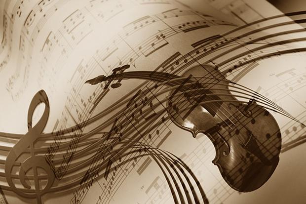 Violine Geige Musik Klassik Stock