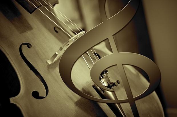 Cello Klassik Musik Stock
