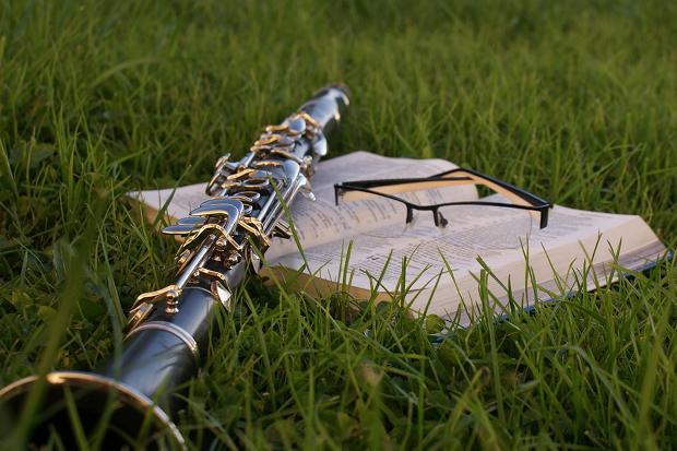 Klarinette Musik Klassik Stock