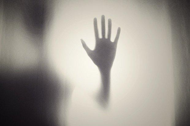 Schwarz Black Horror Gothic Crime Krimi Stock