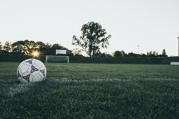 Fußball Sport Mannschaft Stock