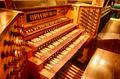 Orgel Kirche Gottesdienst Stock