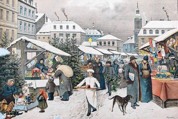 Winter - Weihnacht - Winterschlaf auf Schulwandbildern