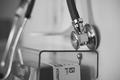 Krankenhaus Arzt Medizin Stock
