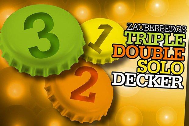 Zauberberg Triple Double Solo Decker