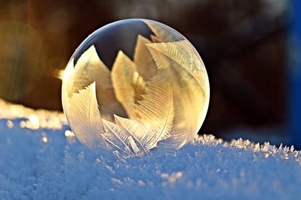 Winter Schnee Kalt Licht Kunst