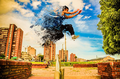 Parkour Fitness Sport Stock