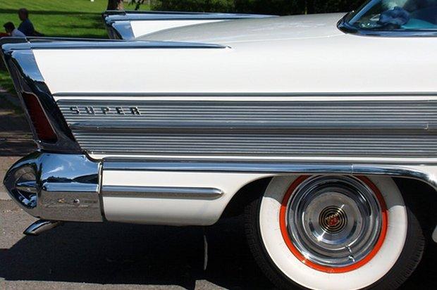 50s Rock'n'Roll Twist Karre Auto Felge Stock