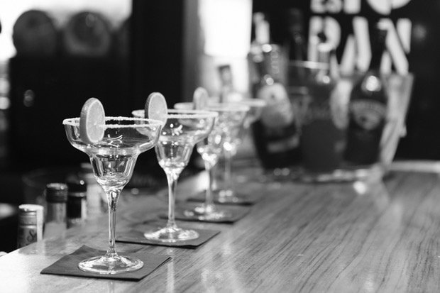 Cocktails Bar Stock