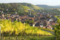 Randersacker Weinhügel Dorf