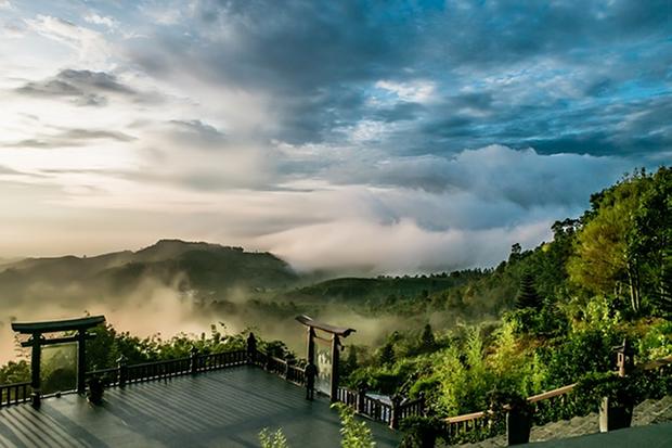 Asien Vietnam Landschaft Stock
