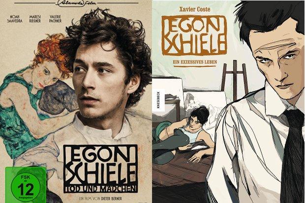 Egon Schiele Comic