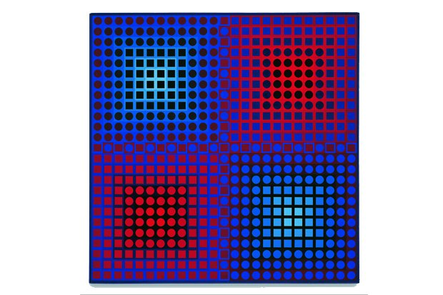 Der Traum vom Raum, Victor Vasarely, EG-1 1967, Sammlung Würth