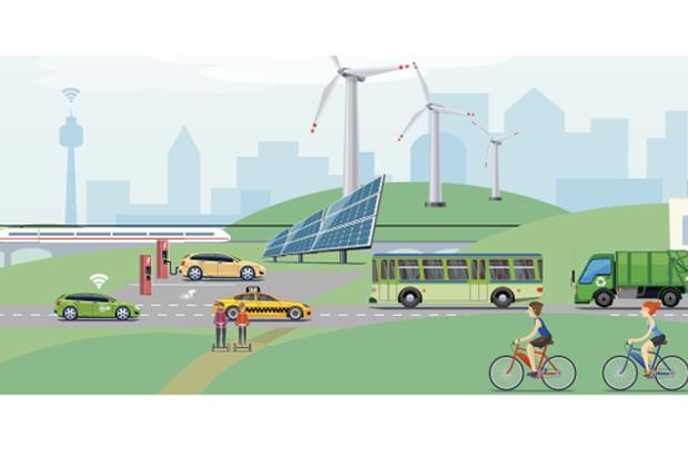 Wanderausstellung: Elektromobilität Bayern