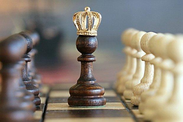 Schach König Spiel Stock