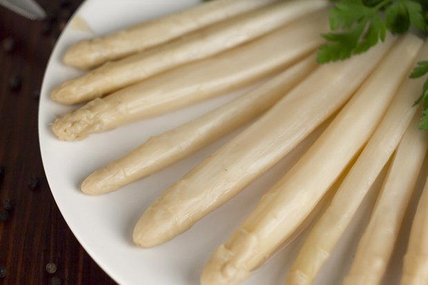 Spargel Stock