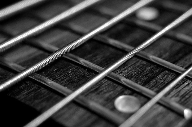 Gitarre, Griffbrett Stock