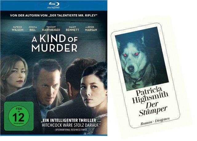 2x1 Krimipaket: A Kind of Murder (Blu-ray) + Der Stümper (Roman)